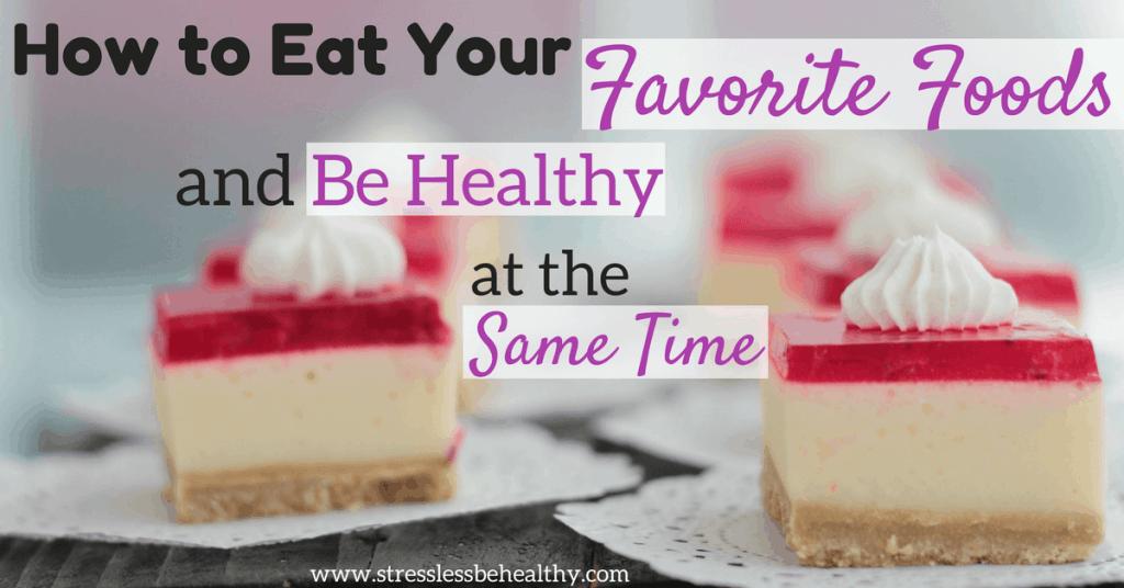 Healthy food swaps
