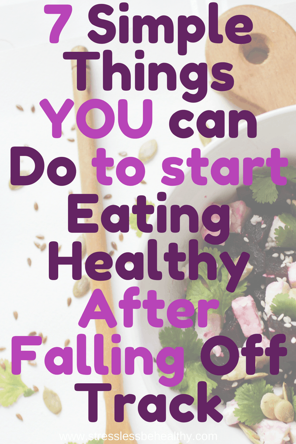 Start Eating Healthy