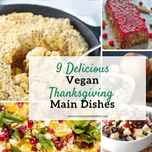 Looking for a vegan thanksgiving main dish? Easy vegan thanksgiving dinner recipes? Whether it's salads or a heartier meal you're after, come check out these 9 thanksgiving recipes for vegans!