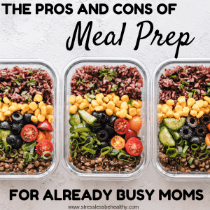 meal prep for multiple days, meal prep containers, benefits of meal prepping, negatives of meal prepping