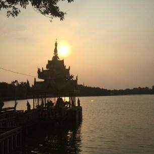 Sunset Stroll Kandawgyi Lake