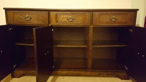 Upcycling Solid Oak Sideboard