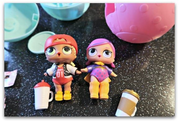 Cute L.O.L Surprise dolls and accessories