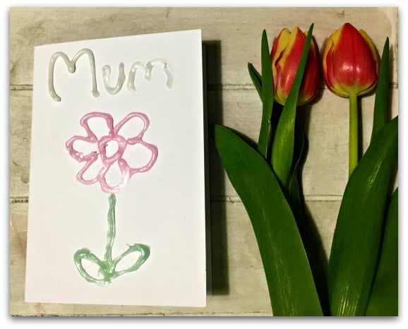 Gel-a-Peel Mother's Day Card