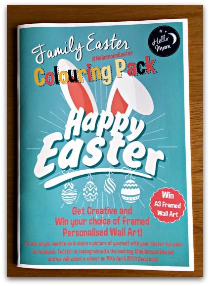Hello Moon Family Easter Colouring Pack