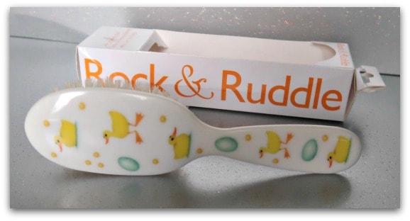 Rock & Ruddle Ducks Hairbrush
