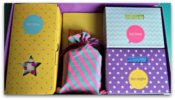 Betty Box – Period Subscription Boxes for Girls