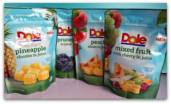 Dole Fruit Fridge Packs