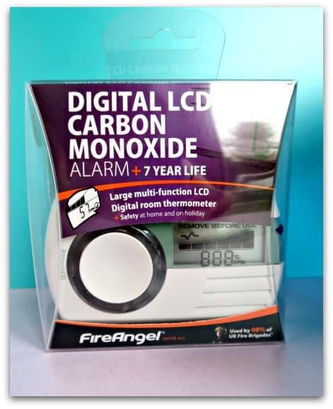 FireAngel digital Carbon Monoxide Alarm