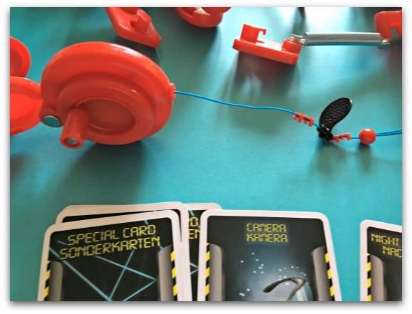 Chrono Bomb Wire Reel Clamp