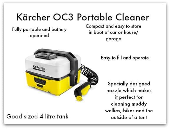KärcherOC3 Portable Cleaner Overview