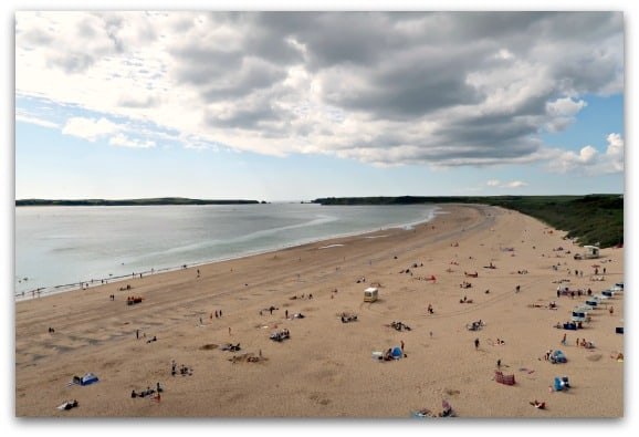 South Beach is one of three stunning beaches in Tenby