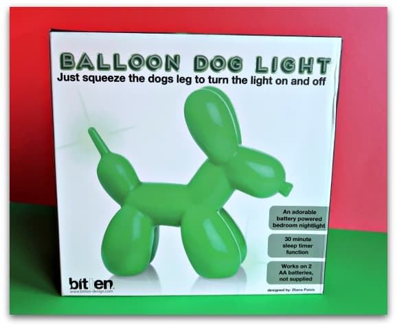 Balloon Dog Light from Red Candy