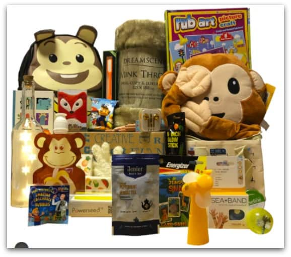 Childhood Cancer Gift Box_ The Little Monkey Mighty Big Hamper