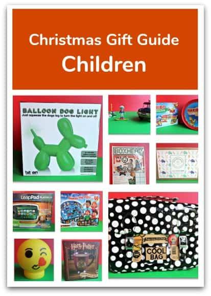 Christmas Gift Guide for Children