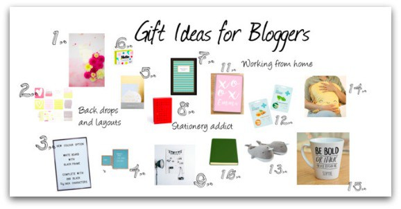 Christmas Gift Guide for Bloggers