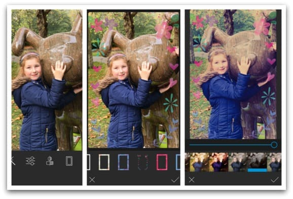 Using the HP Sprocket app to edit photos before printing
