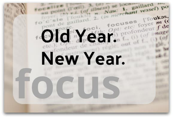 Old Year. New Year.