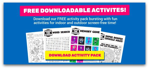 Free Downloadable Activities from Smiggle for Screen-Free Week