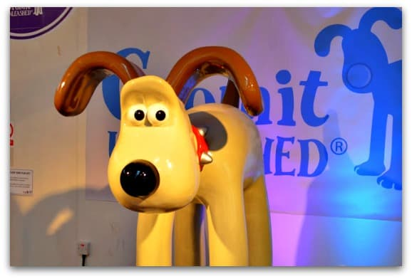 Gromit sculpture from Gromit Unleashed in 2013