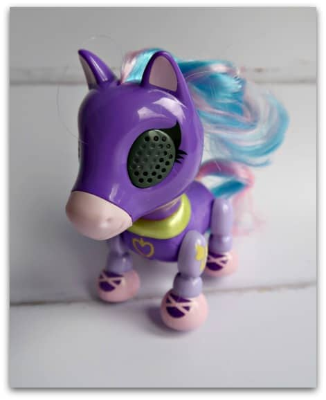 Zoomer Zupps Pretty Ponies Lilac Unboxed