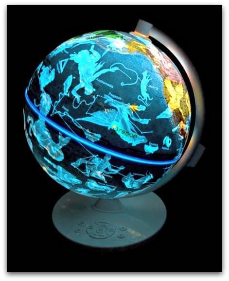Smart Globe Myth from Oregon Scientific Night View