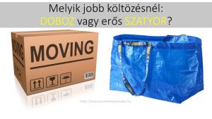 Költözéshez doboz vagy erősszatyor?