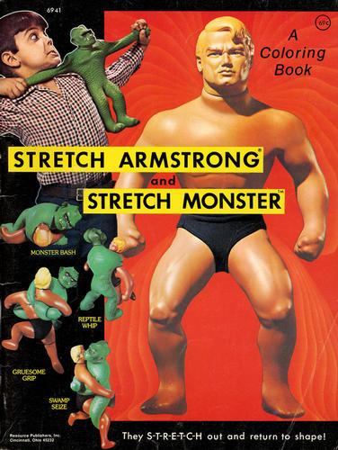 Vintage Stretch Figure Advertisments Page 1