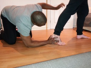 Sport Massage Therapy Foot