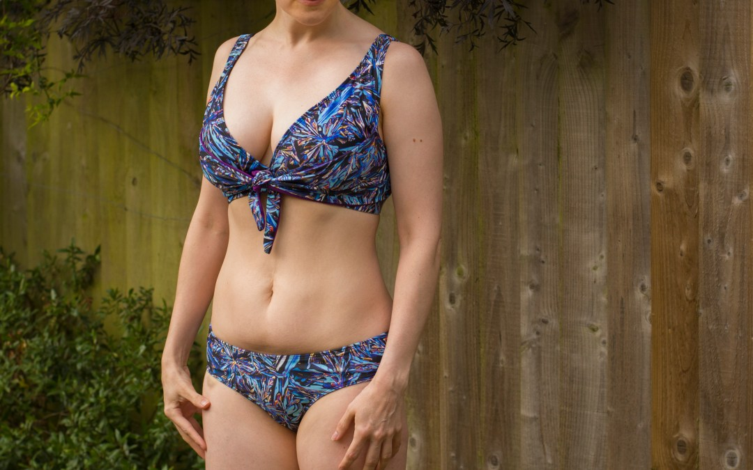 Full Bust Adjustment for the Greenstyle North Shore Swimsuit