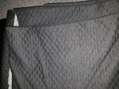 Charcool Quilted Polyester