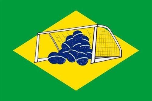 új brazil zászló