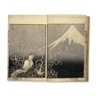 Il drago e il monte Fuji - Hokusai