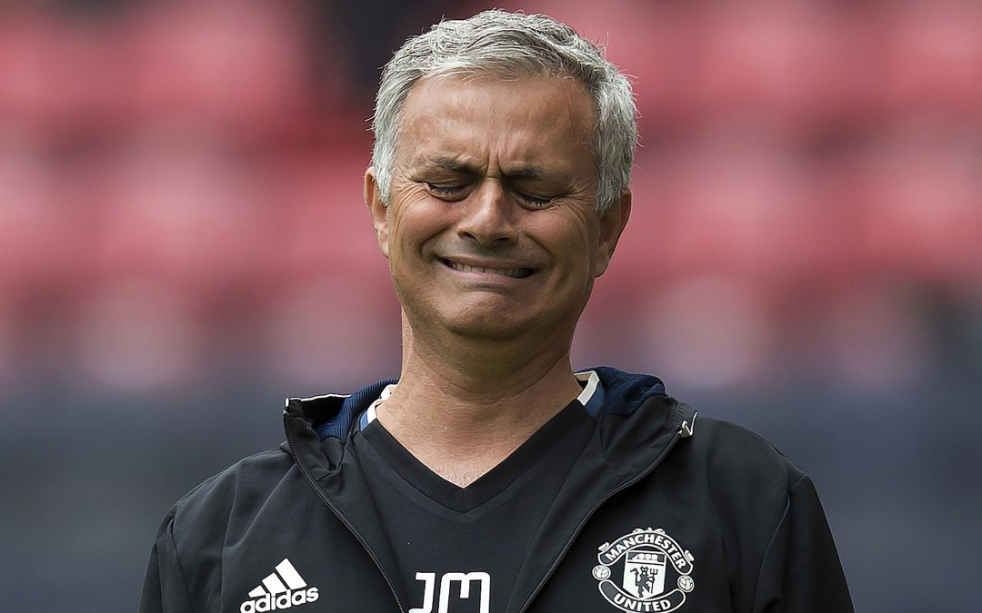 Will Man United ever see a Mourinho 3-5-2?