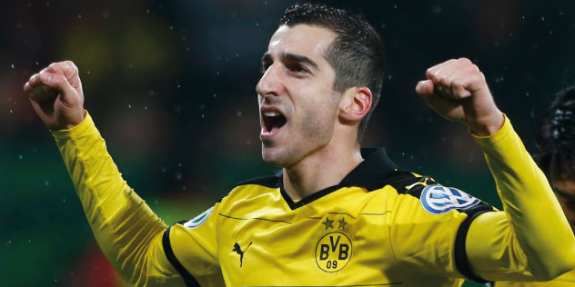 What's eating Henrikh Mkhitaryan?