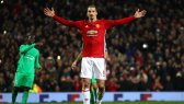 Ibra spread his arms for three times the love in Manchester United's hat trick performance v St Etienne