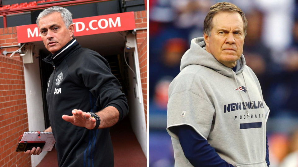 Situational awareness is second nature to Belichick; Mourinho is still learning.