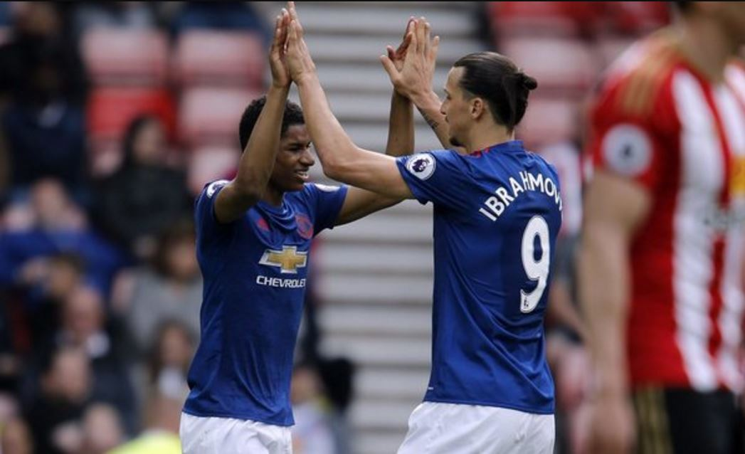 United's victory at the Stadium of Light saw Marcus Rashford finally break his duck.