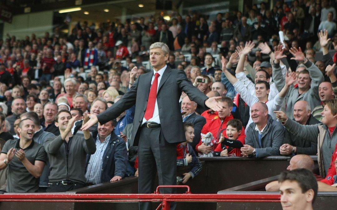 Arsene Wenger's finest moments against Manchester United