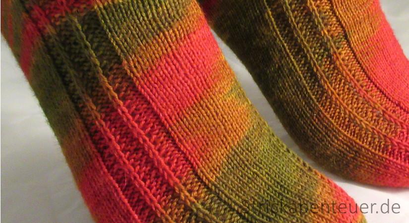 handestrickte Socken Muster Schafpaten-Socken Wolle Etherische Öle