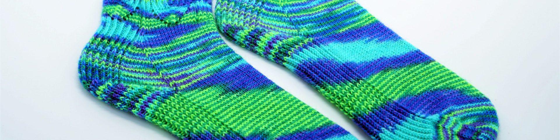 meine Wieder da Socken gestrickt von strickabenteuer.de