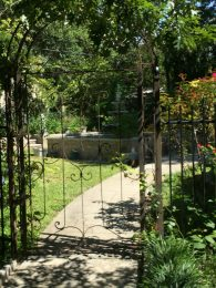 Entrance to backyard