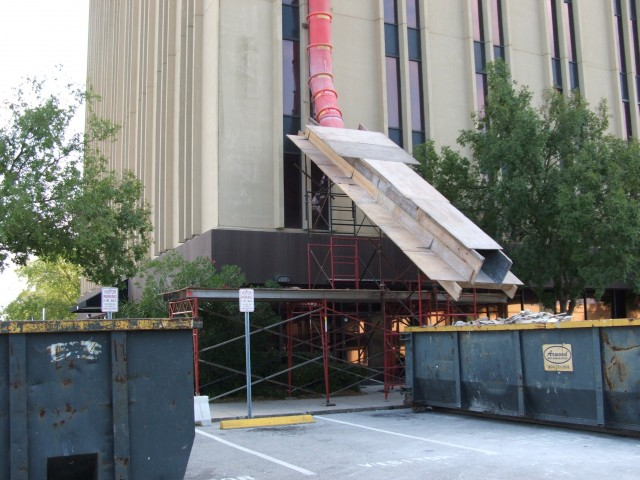 Trash Chute/Slide Combo, Regency Square, Jacksonville, FL