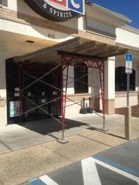 Pedestrian Canopy Scaffold, Oviedo, FL
