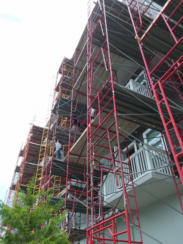 Frame Scaffold, Lake Lofts at Deerwood, Jacksonville, FL