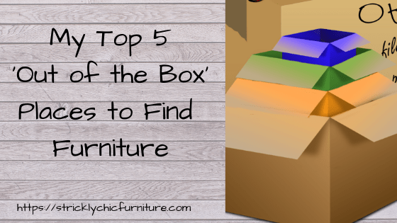 Top 5 'Out of the Box' Furniture Sources