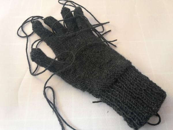 fingerhandschuh-faeden