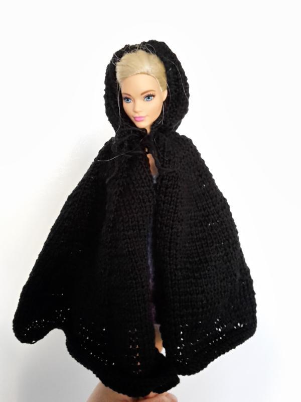 Ninja-Umhang für eine Barbie