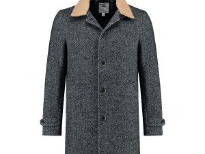 Coat Herringbone Wool
