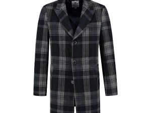 Coat Wool Check